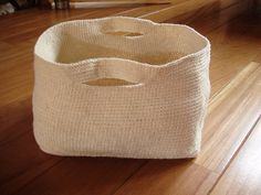 Crochet Basket - Tutorial - ok, if I could remember how to crochet, I would love to make this!