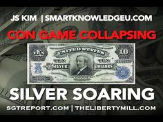 CON GAME COLLAPSING, SILVER SOARING