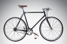 Handmade 8 Gang Urban Bike avid blue with Gates Carbon Drive (belt drive), Alfine and Brooks, blue City bicycle with Single Speed Bike design Single Speed Bike, Radler, Urban Bike, Bicycle Rack, Vintage Cycles, Bike Brands, Fixed Gear Bike, Bike Style, Bike Art