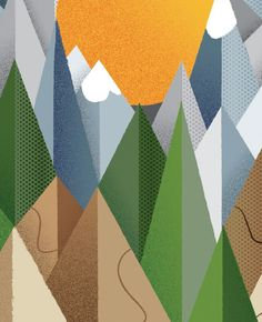 Jeffrey Bowman explains how to use grids, gradients and textures to add depth to your illustrations. #Tutorial