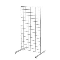 - Gridwall Mesh 2 Way Display Stand - x x - x x at the most competitive prices, view our range online. - Gridwall Mesh 2 Way Display Stand - x x - x x supplied direct from stock nationwide. Call today on 01777 Retail Shelving, Display Panel, Steel Mesh, Floor Space, Chrome Finish, Range, Galleries, Cookers