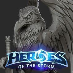 Heroes of the Storm, Michael vicente - Orb on ArtStation at https://www.artstation.com/artwork/wZAy5