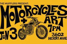 Mufflers Motorcycles + Art June 2016