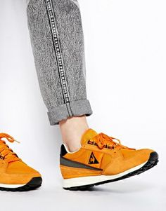 Image 4 of Le Coq Sportif Eclat 89 Orange Sneakers