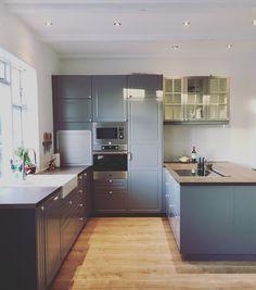 Vores nye IKEA køkken (Bodbyn).