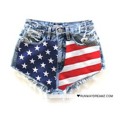 American Flag :D  This is like the perfect short!