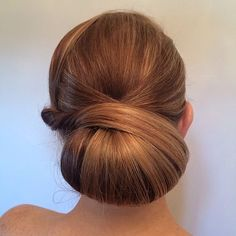 Twisted Chignon | The Right Hairstyles