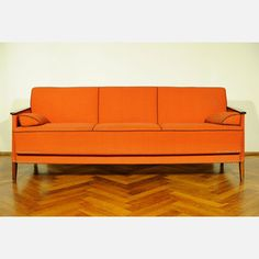 70s Sofa Orange, £212, now featured on Fab.