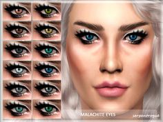 Sims 4 CC's - The Best: Eyes by Serpentrogue