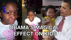 Obama and Kids: Makes Girl CRY cause he won't be President forever in Fa...