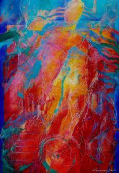"Saatchi Art Artist Antoni Karwowski; Painting, ""Summertime"" #art"