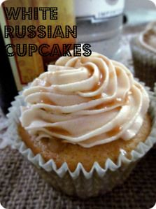 White Russian Cupcakes