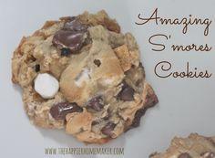 Amazing S'mores Cookies