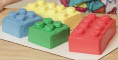 Lego Cakes! real easy to make I found them on YouTube :D