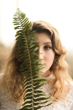 Fern Gully, Ferns, Lush, Greenery, Dreadlocks, Crown, Hair Styles, Photography, Beauty
