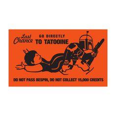 Go Directly To Tatooine