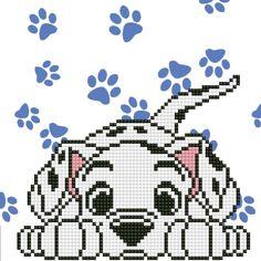 Easy Pixel Art, Pixel Art Grid, Perler Bead Disney, Perler Bead Art, Beads Pictures, Crafts With Pictures, Disney Cross Stitch Patterns, Cross Stitch Designs, Hama Beads Patterns