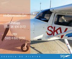Saludos,  buen fin de semana para todos.  Buenos vuelos a nuestros alumnos!   Quieres ser #piloto ? Pregúntanos como:  info@skyecuador.com 04 600 8250 o ( 0969063172 solo mensajes WhatsApp ) www.skyecuador.com