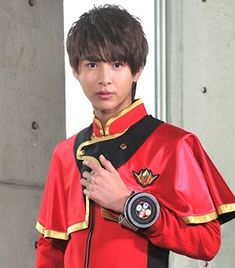 Part-Time Sentai Hero Go Busters, Part Time, Kamen Rider, Power Rangers, Boys Who, Captain Hat, Handsome, Actors, Anime
