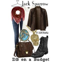 Jack Sparrow, created by lalakay on Polyvore