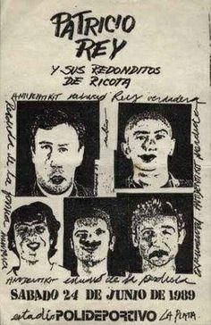 ESTADIO POLIDEPORTIVO DE GIMNASIA Y ESGRIMA DE LA PLATA - SABADO 24/6/1989 Rock N Roll, Hey You, Recital, Bowie, Rock Art, Punk Rock, Album Covers, Tapas, Spiderman