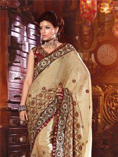 Beautiful Party Wear Designer Saree from ShivamPrints