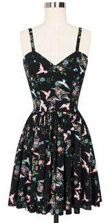 Trashy Diva Ruby Mini Dress in Lovebirds