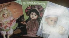 Doll Magazines 1986,1995,1994 In good shape pretty awesome lot 3