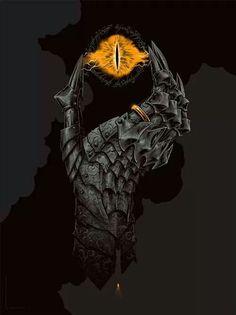 La mano de Sauron