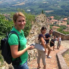 Fun day out in #Brisighella with @n_montemaggi @Adeline @carnetdescapade & @Kristin Olson There #blogville - Instagram by @Bridget Sutton Traveller