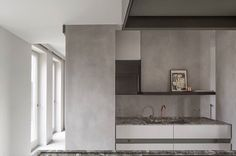 Pastellone floor & walls by Odilon Creations - interior design by Frederic Kielemoes - photography Cafeine