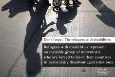 #Refugees #disabilities #CRPD #UNHCR #WithRefugees #PWD #Humanity #refugee #Asylum #IDPS #asyl #UNGA #RefugeeCrisis #AXSChat #Syria