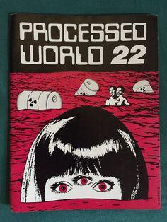 processed world 22 summer 1988 anarchist radical situationism zine fanzine punk from $7.99