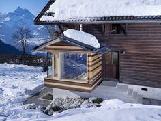 Renovation Of A Century-Old Chalet In The Swiss Alps | DigsDigs