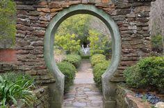 Moon Gate at Chandor Gardens, Weatherford, Texas