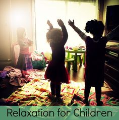 Relaxation for Children - Octavia and Vicky Social Emotional Development, Kids Around The World, Skills To Learn, School Psychology, Music Therapy, Toddler Fun, Yoga For Kids, Coping Skills, School Counseling