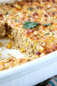 10 minute prep Salsa Verde Honey Lime Chicken and Rice Bake bursting ...