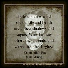 what is the relationship between place and literature in edgar allan poe