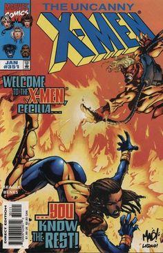 The Uncanny X-Men #351 (Vol. 1):   The Uncanny X-Men #351 (Vol. 1)
