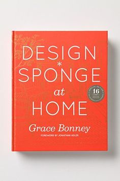OK, I still have yet to purchase this book, but flicking through it in Anthropologie, it just made me want my own house to do whatever I wish with! Love interior Design