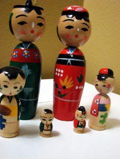 Kokeshi Nesting Dolls