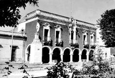 Plaza de armas y Presidencia Municipal de Jalostotitlan Jalisco Mexico