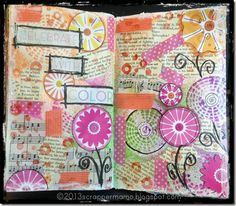 celebrate with color art journal