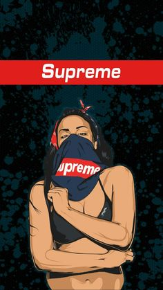 Image Result For Supreme Cartoon Girl Iphone Wallpaper Pinterest