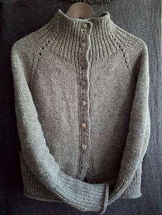Ravelry: Naima: Shetland and rocks - Pulli Stricken Cardigan Pattern, Knit Cardigan, Knitting Yarn, Hand Knitting, Plus Size Outerwear, How To Purl Knit, Knitting Designs, Knit Crochet, Crochet Cats