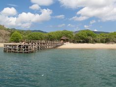 pier of KOMODO NATIONAL PARK