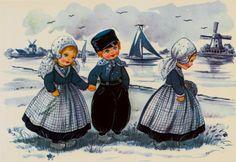 Delft Blue Children Postcard 9 | Flickr - Photo Sharing!