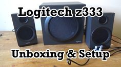 I have needed some new speakers for a while, now I have some, they are the Logitech z333 desktop speakers and in this video I unbox them. ---------- Subscrib...