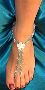 [orginial_title] – Lulu Gonzalez 4 Brilliant DIY Beaded Jewelry Ideas You'll Love 4 Brilliant DIY Beaded Jewelry Ideas You'll Love – Glam Bistro Bridal Sandals, Beaded Sandals, Beaded Anklets, Beaded Jewelry, Handmade Jewelry, Barefoot Sandals Wedding, Barefoot Beach, Bridal Shoes, Diy Schmuck