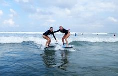 SURFING LESSONS | Learn to surf Bali surf camp for women | Mind Body Soul Surf Bali